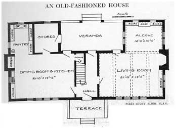 First Floor Plans for Traditional Home