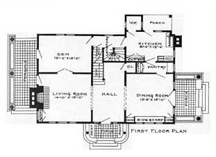 Different parts of house plan House plans