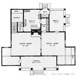 Tower House Floor Layout