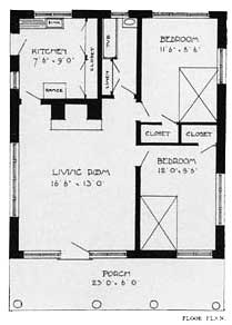 Craftsman Cabin Floor Plans